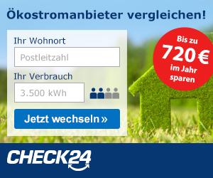 Check24-Ökostrom-Vergleich